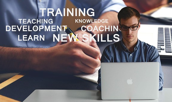 image of words with new skills