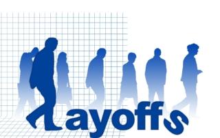layoff sign